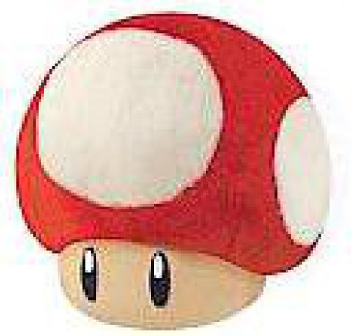 Super Mario 64 DS Super Mushroom 6-Inch Plush
