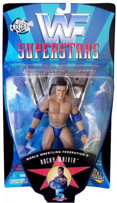 WWE Wrestling WWF Superstars Series 5 Rocky Maivia Action Figure