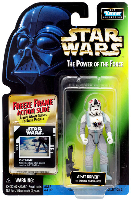 Star Wars The Empire Strikes Back Power of the Force POTF2 Kenner Collection AT-AT Driver Action Figure