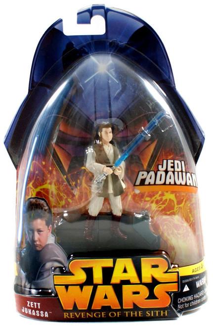 Star Wars Revenge of the Sith 2005 Zett Jukassa Action Figure #52