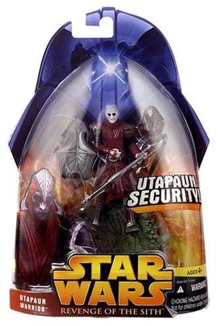 Star Wars Revenge of the Sith 2005 Utapaun Warrior Action Figure #53