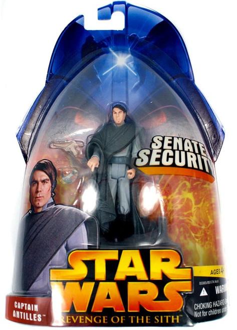 Star Wars Revenge of the Sith 2005 Captain Antilles Action Figure #51
