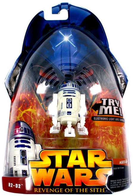 Star Wars Revenge of the Sith 2005 R2-D2 Action Figure #48