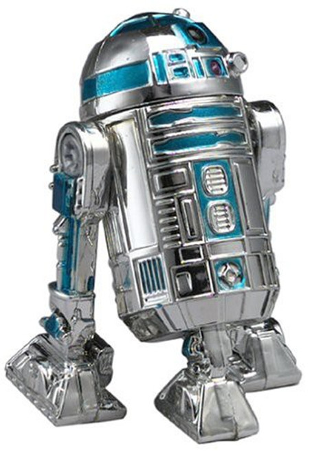 Star Wars A New Hope Saga 2002 Silver Anniversary R2-D2 Exclusive Action Figure
