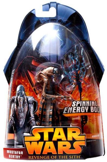 Star Wars Revenge of the Sith 2005 Mustafar Sentry Action Figure #56