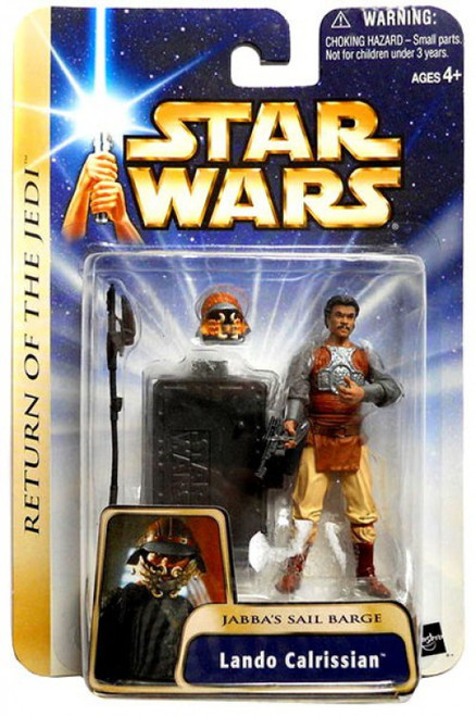 Star Wars Return of the Jedi Lando Calrissian Action Figure #07 [Jabba's Sail Barge]