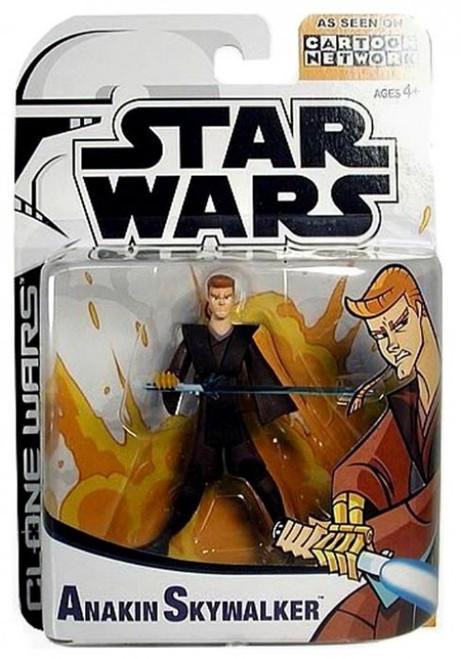 Star Wars The Clone Wars Cartoon Network Anakin Skywalker Action Figure