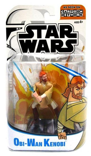Star Wars The Clone Wars Cartoon Network Obi-Wan Kenobi Action Figure