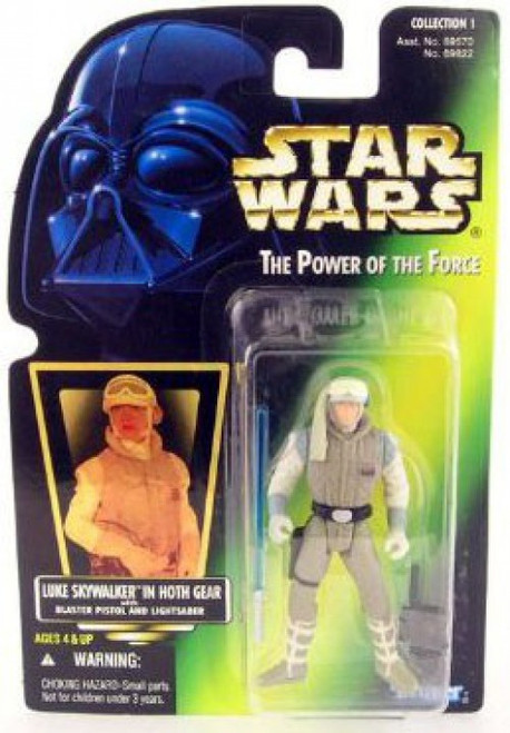 Star Wars The Empire Strikes Back Power of the Force POTF2 Collection 1 Luke Skywalker Action Figure [Hoth Gear]
