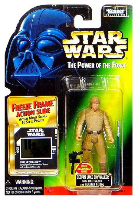 Star Wars The Empire Strikes Back Power of the Force POTF2 Kenner Collection Bespin Luke Skywalker Action Figure