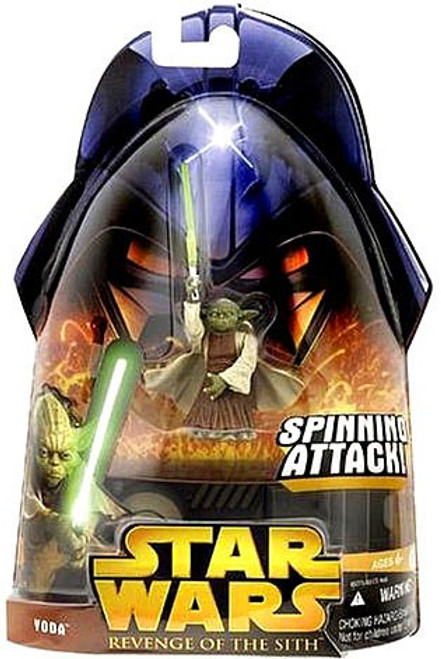 Star Wars Revenge of the Sith 2005 Yoda Action Figure #26