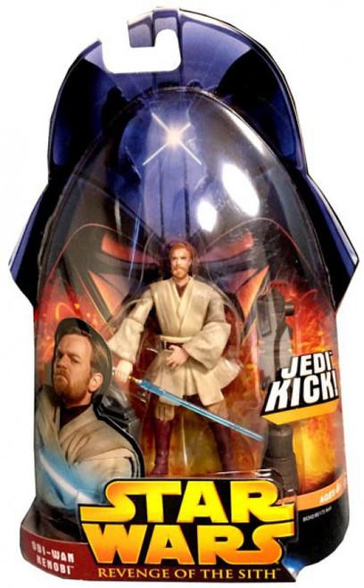 Star Wars Revenge of the Sith 2005 Obi-Wan Kenobi Action Figure #27