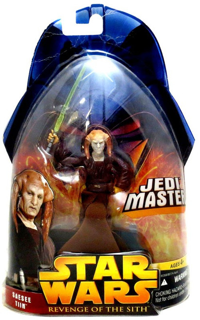 Star Wars Revenge of the Sith 2005 Saesee Tiin Action Figure #30