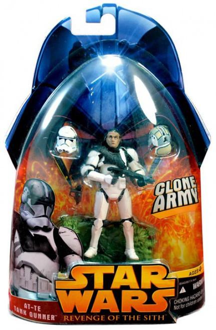 Star Wars Revenge of the Sith 2005 AT-TE Tank Gunner Action Figure #38