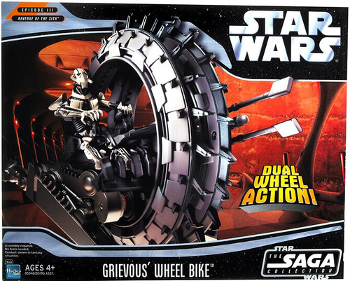 Star Wars Revenge of the Sith 2005 Grievous's Wheel Bike Vehicle