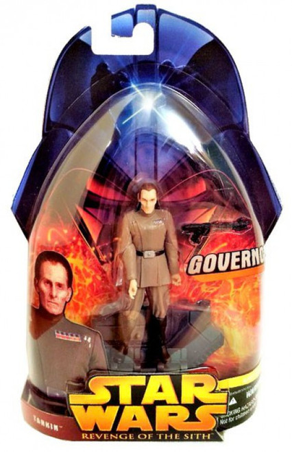 Star Wars Revenge of the Sith 2005 Governor Tarkin Action Figure #45