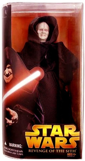 Star Wars Revenge of the Sith 2005 Darth Sidious Action Figure