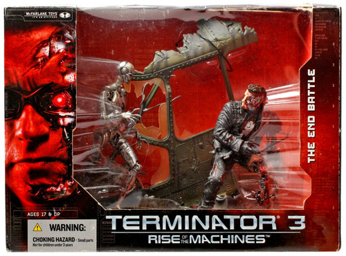 McFarlane Toys Terminator Rise of the Machines The End Battle Action Figure Set