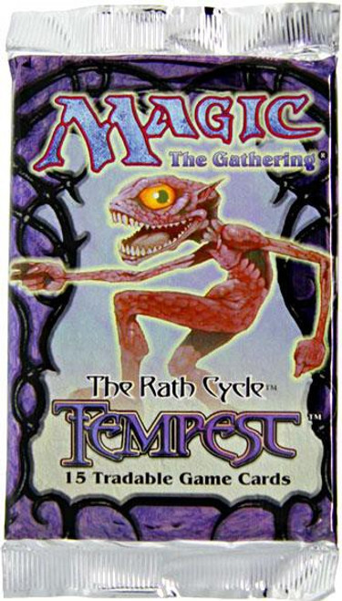 MtG Trading Card Game Tempest Booster Pack [15 Cards]