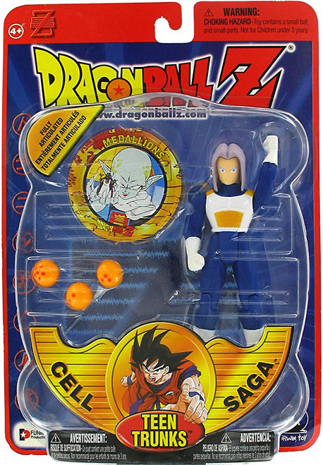 Dragon Ball Z Series 4 Cell Saga Teen Trunks Action Figure
