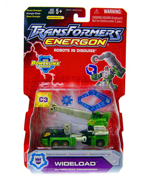 Transformers Energon The Powerlinx Battles Wideload Action Figure C3