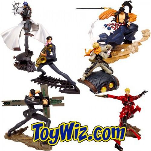 Story Image Figure Trigun Maximum Set of 6 PVC Figures