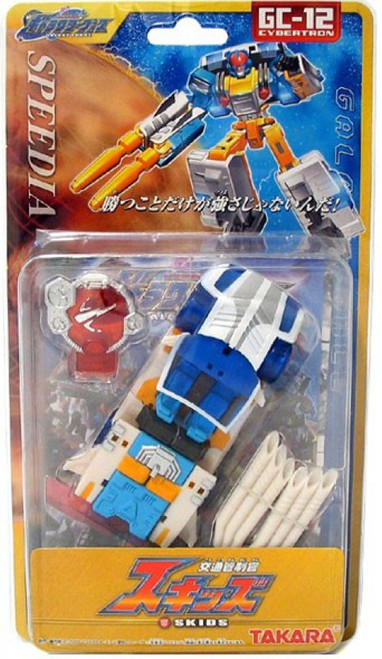 Transformers Japanese Galaxy Force Skids Action Figure GC-12