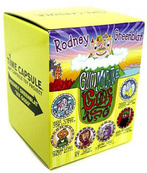 Time Capsule Art Capsule Toy Project Rodney Greenblat's Six Gods Booster Pack