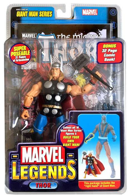 Marvel Legends Giant Man Build A Figure Thor Exclusive Action Figure