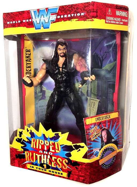 WWE Wrestling WWF Ripped and Ruthless Series 1 The Undertaker Action Figure