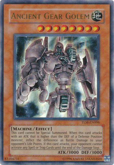 YuGiOh The Lost Millennium Ultra Rare Ancient Gear Golem TLM-EN006