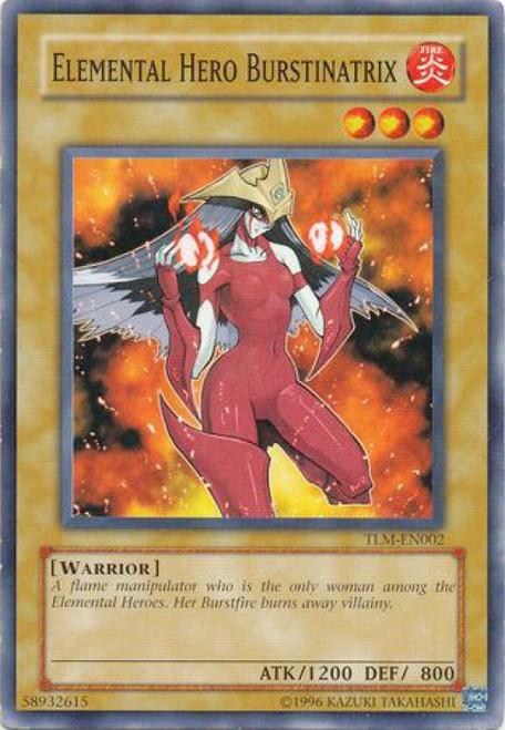 YuGiOh The Lost Millennium Common Elemental Hero Burstinatrix TLM-EN002