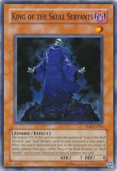 YuGiOh The Lost Millennium Common King of the Skull Servants TLM-EN032