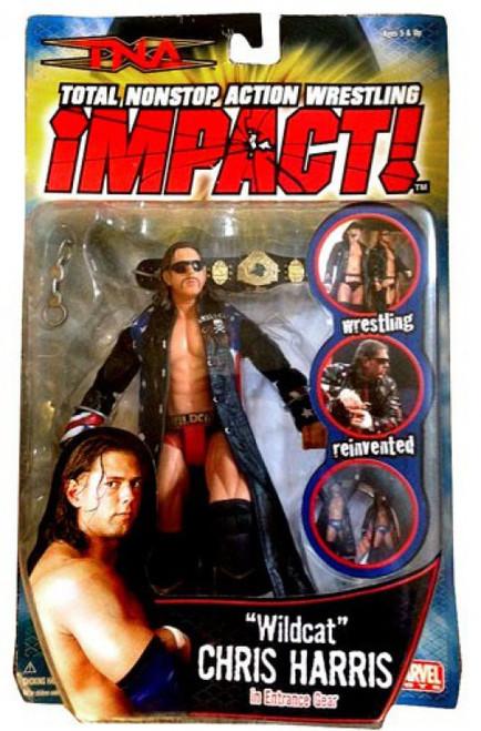 TNA Wrestling Impact Series 4 Wildcat Chris Harris Action Figure