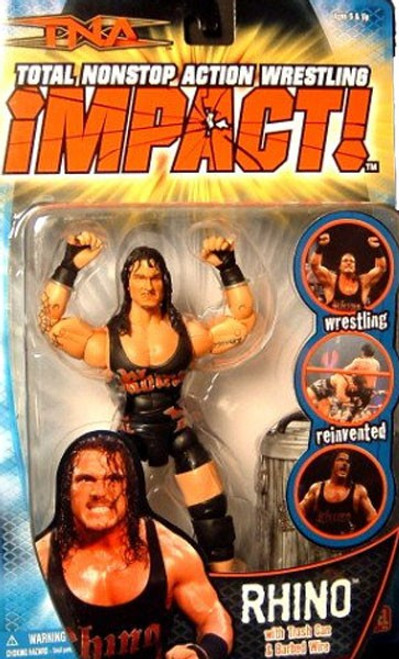 TNA Wrestling Impact Series 4 Rhino Action Figure