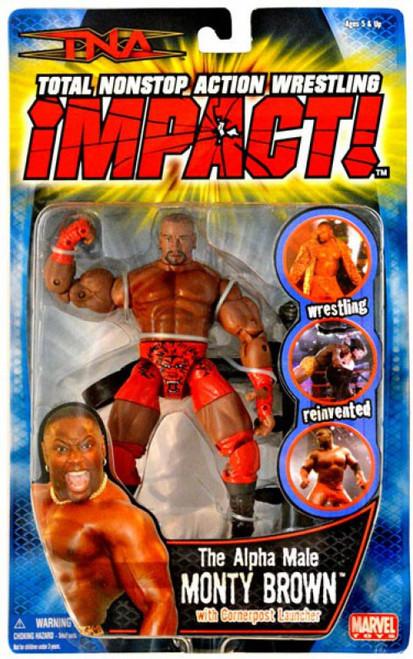 TNA Wrestling Impact Series 3 Monty Brown Action Figure