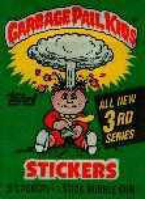 Garbage Pail Kids Topps Series 3 Trading Card Sticker Pack