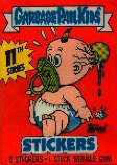 Garbage Pail Kids Topps Series 11 Trading Card Sticker Pack