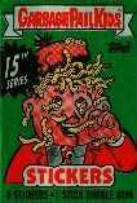 Garbage Pail Kids Topps Series 15 Trading Card Sticker Pack