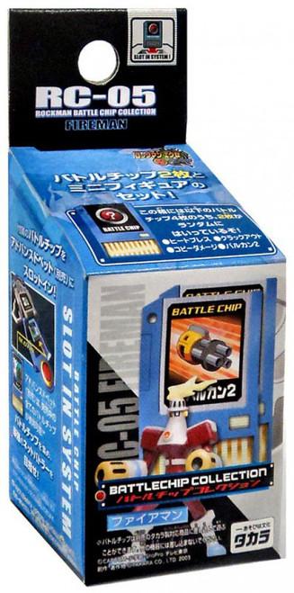 Capcom Mega Man Battlechip Collection Torchma PVC Figure RC-05