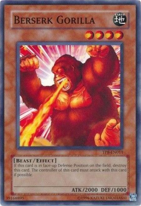 YuGiOh Tournament Pack 8 Common Berserk Gorilla TP8-EN011