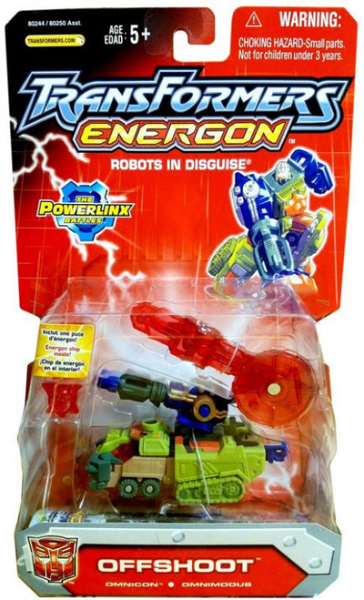 Transformers Energon The Powerlinx Battles Offshoot Action Figure
