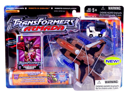 Transformers Armada Powerlinx Thrust Action Figure