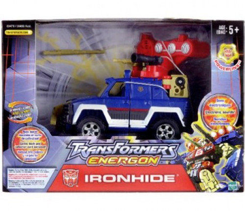 Transformers Energon Mega Powerlinx Ironhide Mega Action Figure