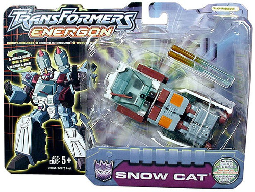 Transformers Energon Deluxe Snow Cat Deluxe Action Figure