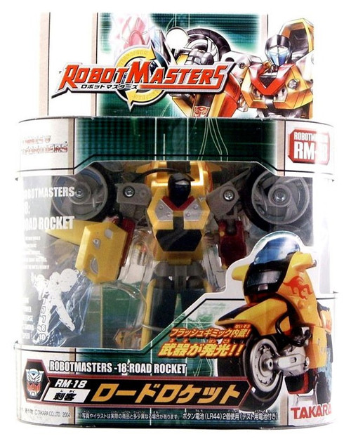 Transformers Japanese Robot Masters Road Rocket Action Figure RM-18