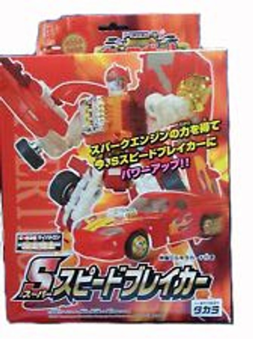 Transformers Japanese Robo Power Activators Sideburn Action Figure C-26 [Red]