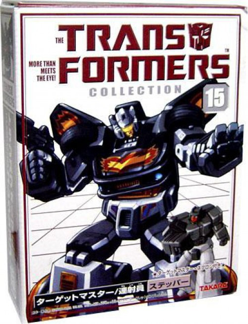 Transformers Japanese Collector's Series Stepper Action Figure #15 [Targetmaster Jazz]
