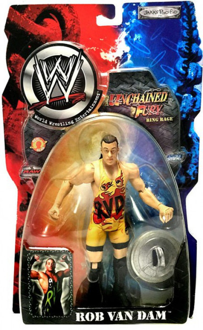 WWE Wrestling Unchained Fury Series 5 Rob Van Dam Action Figure