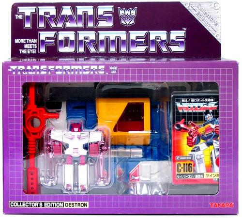 Transformers Japanese Collector's Edition Destron Twincast Exclusive Action Figure C-116